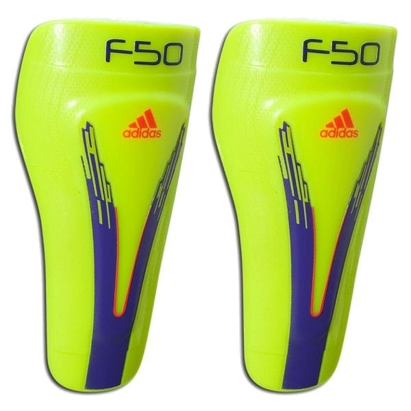 adidas F50 Pro Lite Shin Guard Electricity/Anodized Purple/Infrared