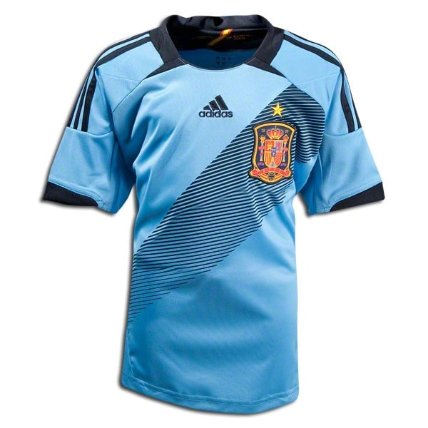 adidas Men's Spain 12/13 Away Jersey Light Alaska/Punjab
