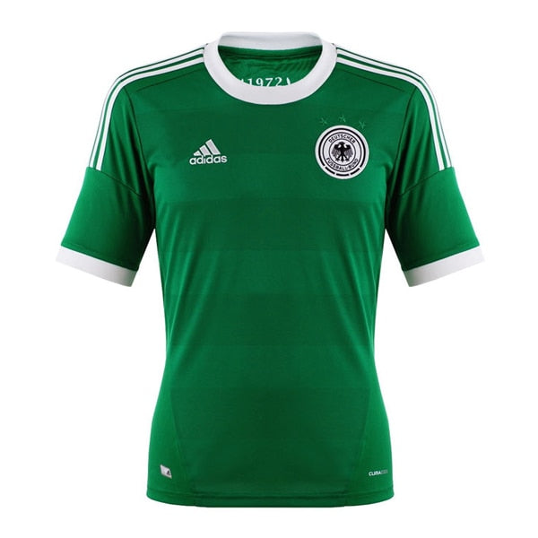 adidas Men's  Germany 12/13 Away Jersey Green/White