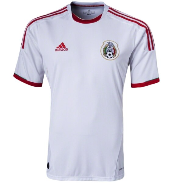 adidas Youth Mexico 12/13 Third Jersey White