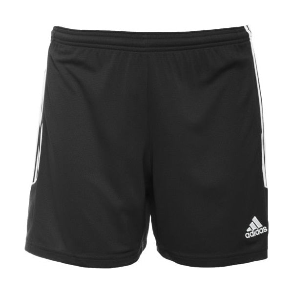 adidas Women's Squad 13 Soccer Shorts Black/White