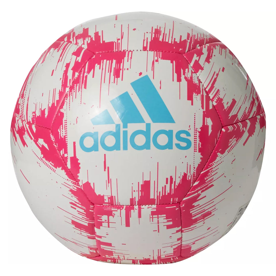 adidas Glider 2 Soccer Ball White/Pink