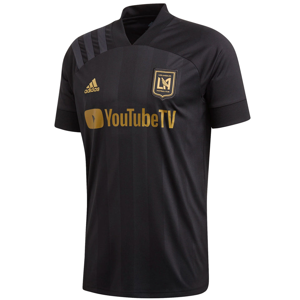 adidas Men's LAFC 2020 Home Jersey Black/Gold