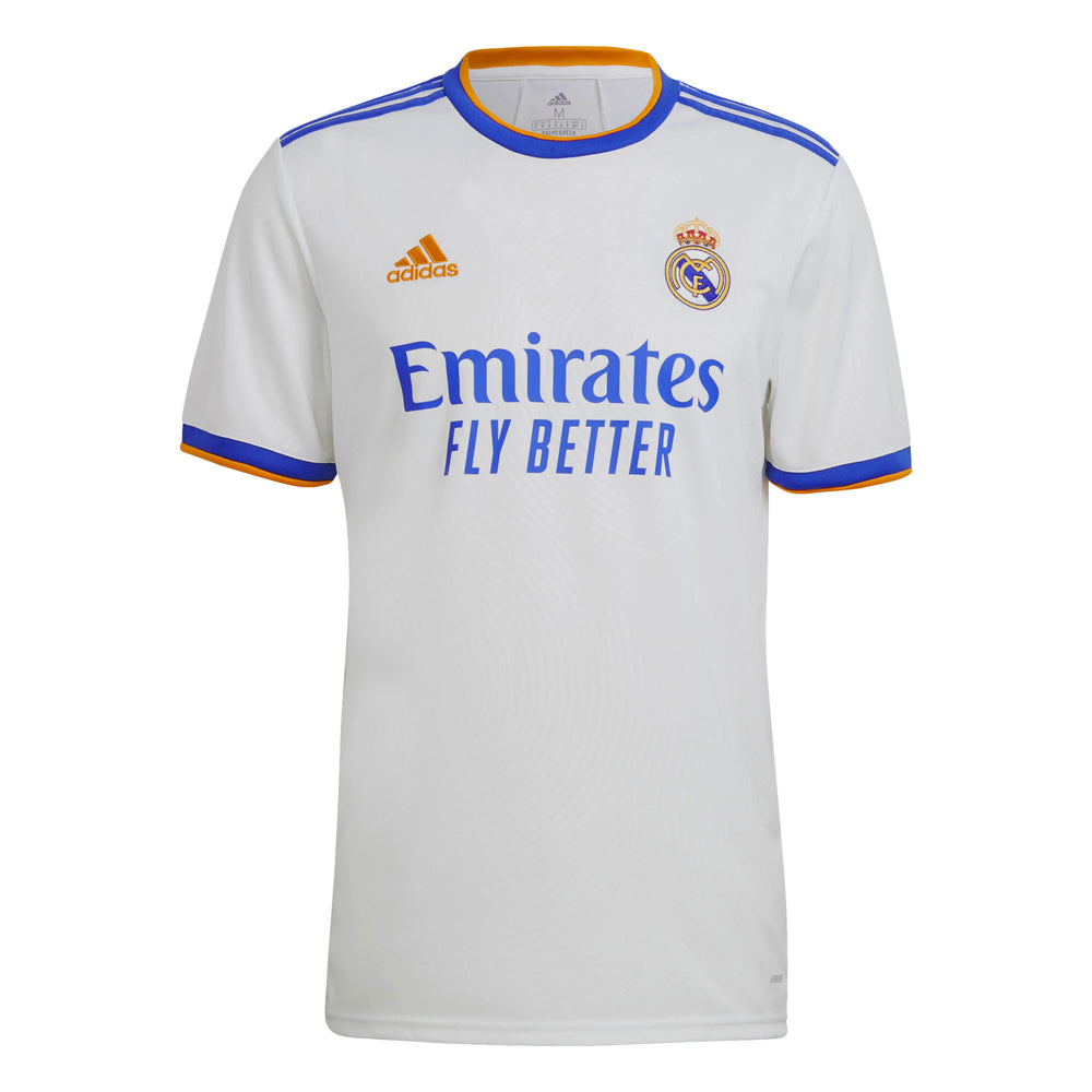 adidas Men's Real Madrid 2021/22 Home Jersey White/Blue