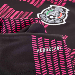 adidas Women's Mexico 2021/22 Home Jersey Black/Real Magenta