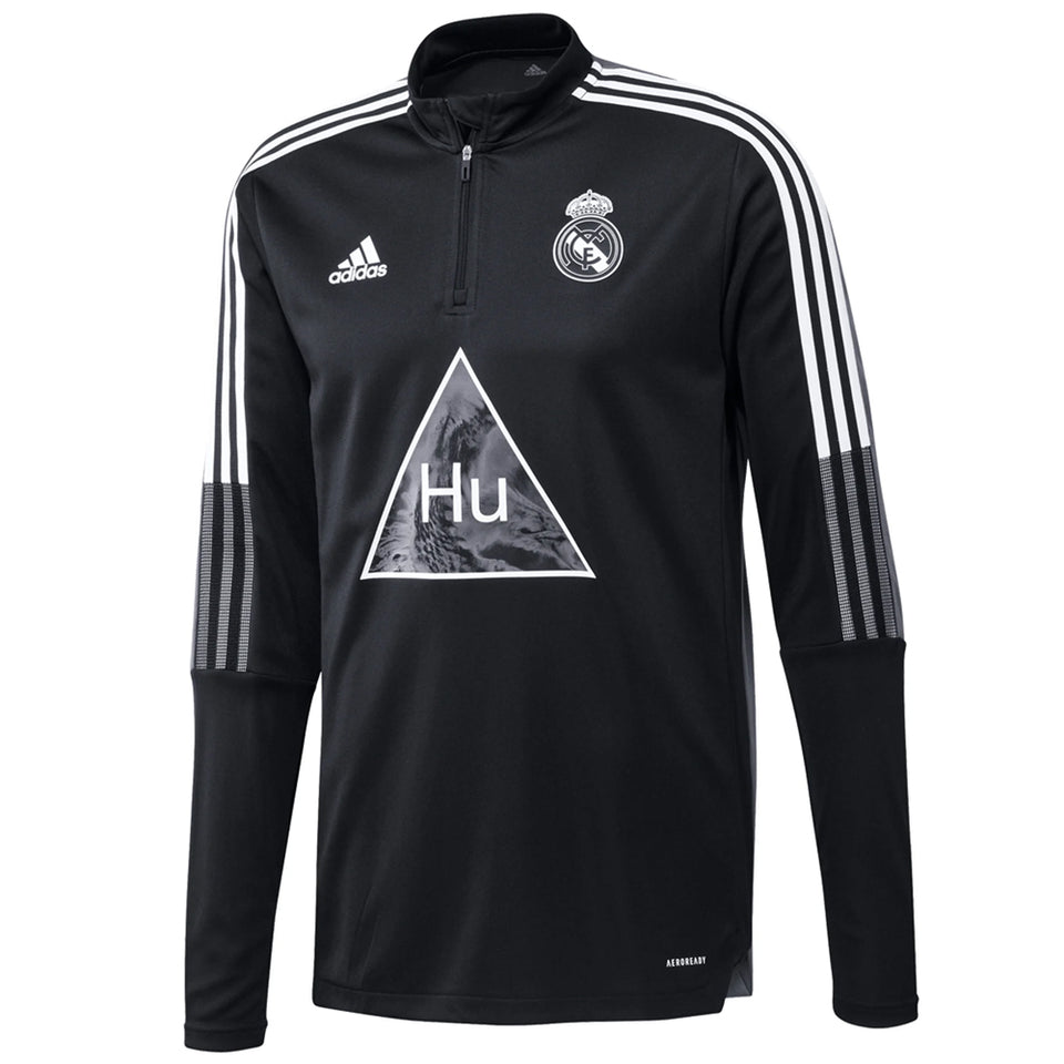 adidas Men's Real Madrid Human Race Training Top Front