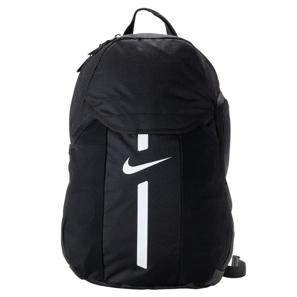Nike Academy Team Backpack Black/White Front View