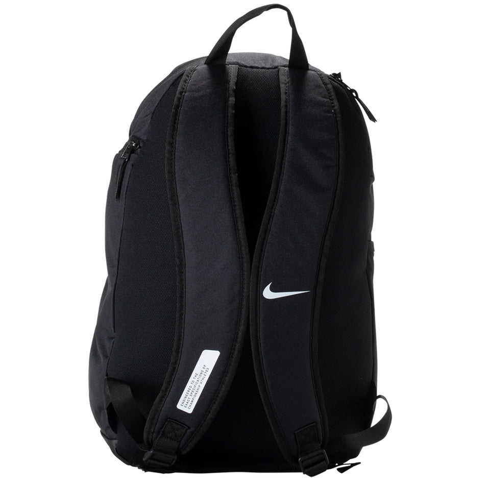 Nike Academy Team Backpack Black/White Back View