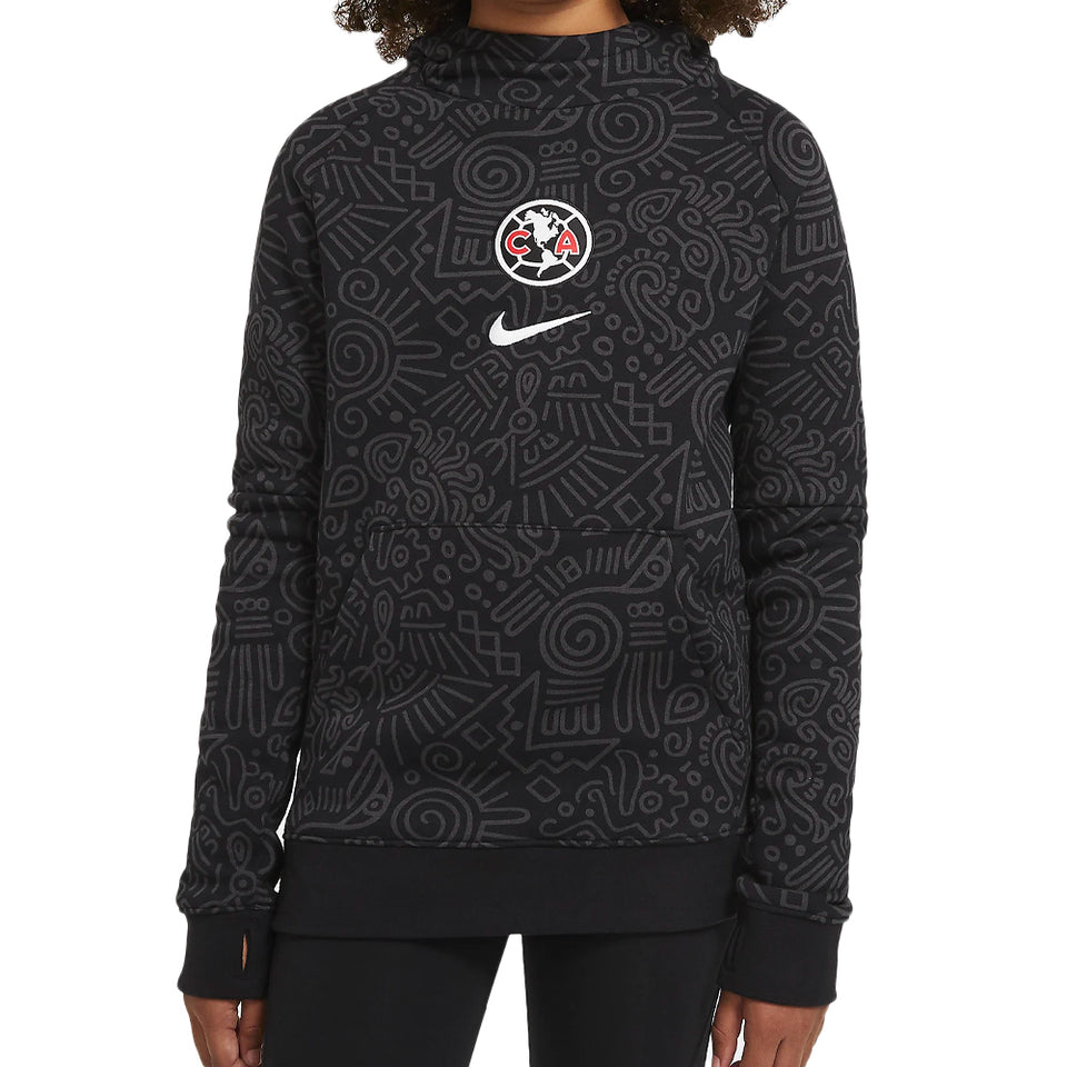 Nike Kids Club America Fleece Pullover Hoodie Front
