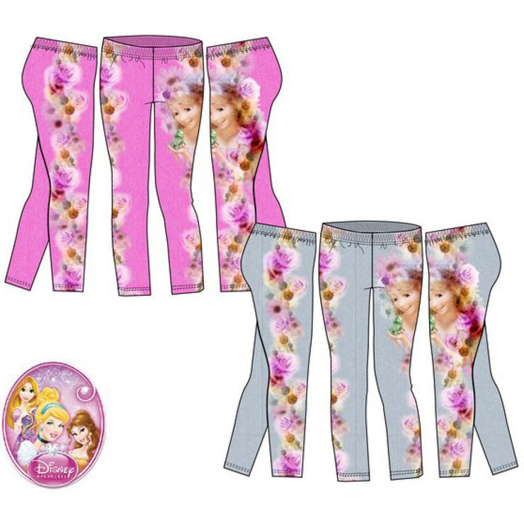 Officiel Disney prinsesse leggings lyserød