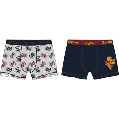 Harry Potter  Boxershorts grå
