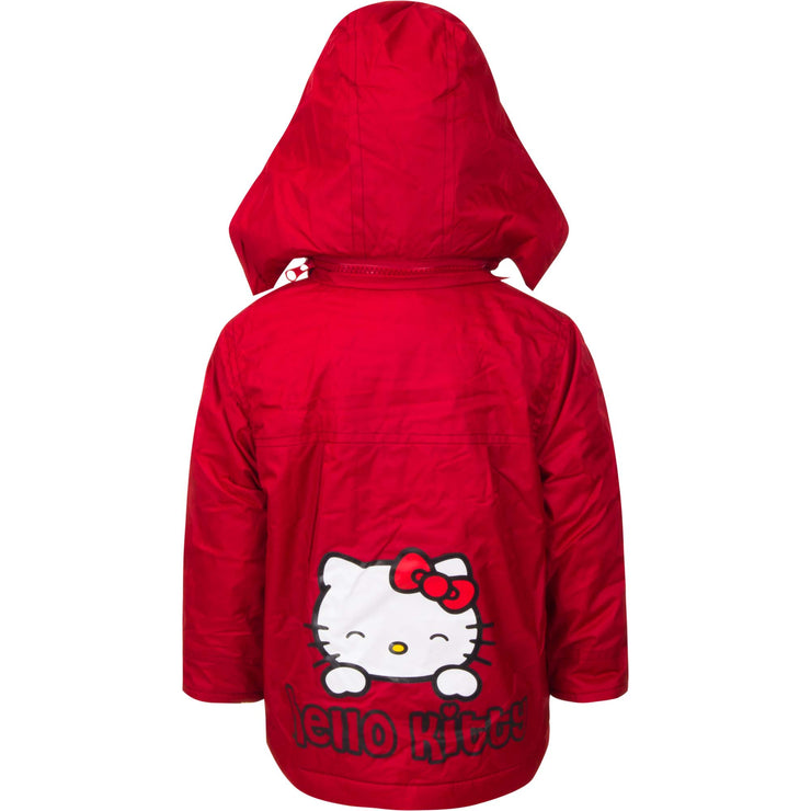 Officiel hello kitty  jakke til BABY I rød