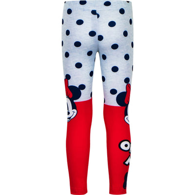 Disney Minnie leggings rød /grå oh my