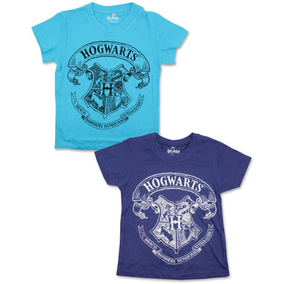Officiel harry potter  T-shirt til drenge blå