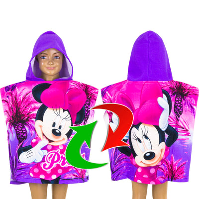 Disney Minnie Mouse bade poncho