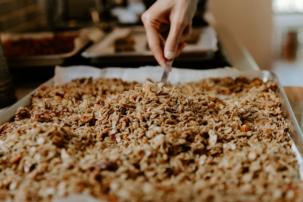 Cardamom Maple Granola (by the pound)