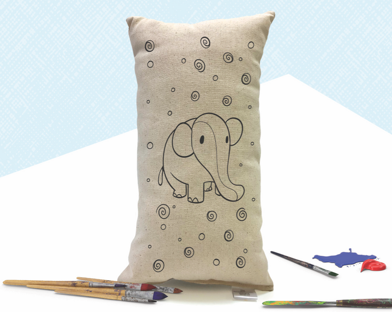 Canvas Paint Pillows