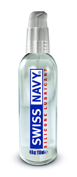 Swiss Navy Silicone Lubricant 4oz/118ml