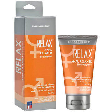 Relax - Anal Relaxer - Anal Relaxer Cream - 56 g Tube
