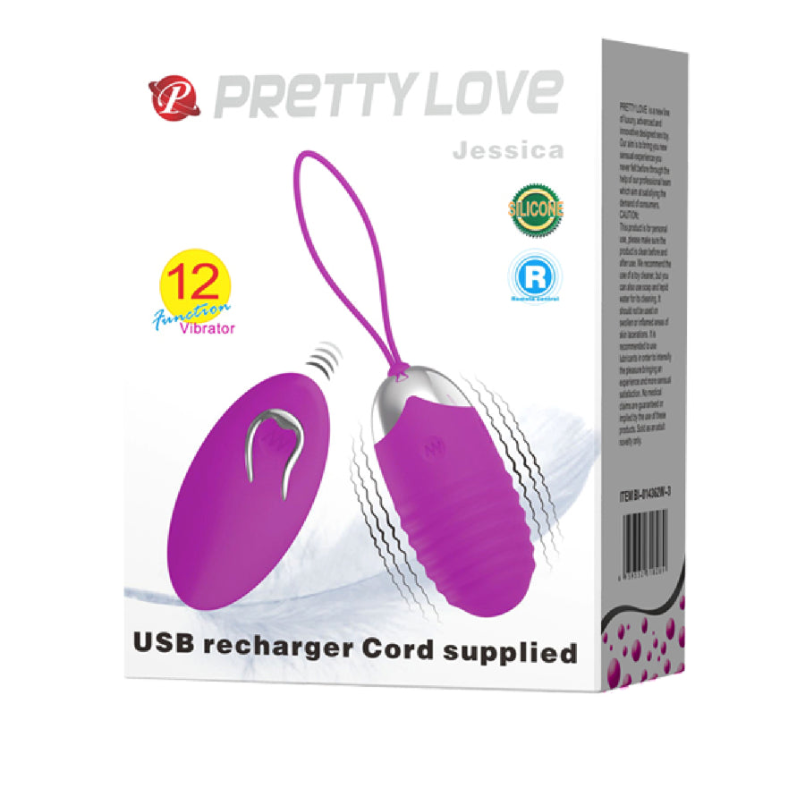 Rechargeable Jessica (Purple)