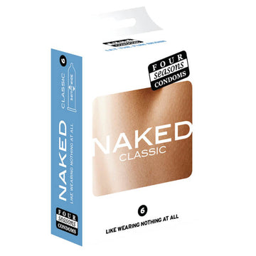 Naked Classic - Ultra Sheer Lubricated Condoms - 6 Pack