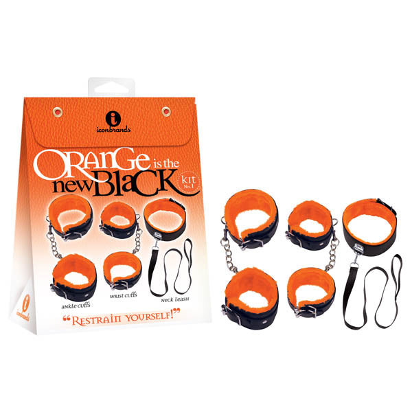 Orange Is The New Black Kit #1 - Restrain Yourself! - Bondage Kit - 3 Piece Set