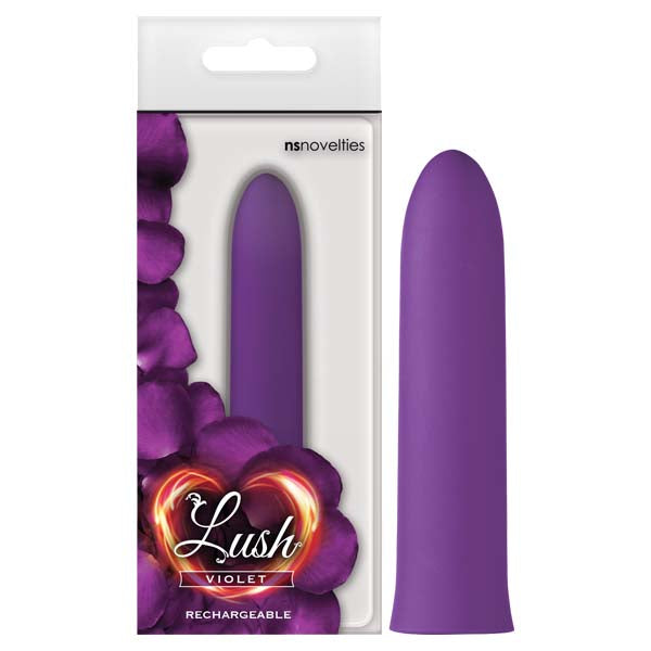 Lush Violet - Purple 9.4 cm (3.7'') USB Rechargeable Mini Vibrator