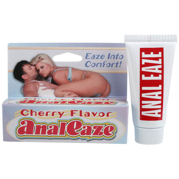 Anal Eaze - Cherry Flavoured Anal Relax Cream - 15 ml (0.5 oz) Tube