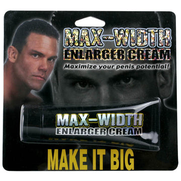Max-Width Enlarger Cream - Penis Enhancer Cream - 44 ml (1.5 oz) Tube
