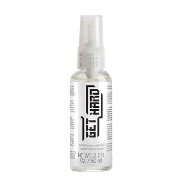 Pharmquests Get Hard - Erection Performance Spray - 50 ml Bottle
