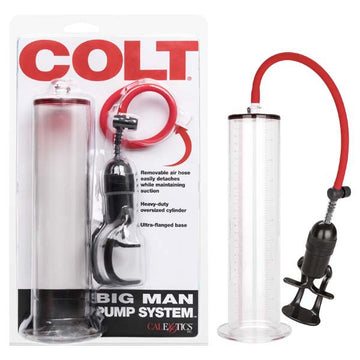 Colt Big Man Pump System - Clear Penis Pump