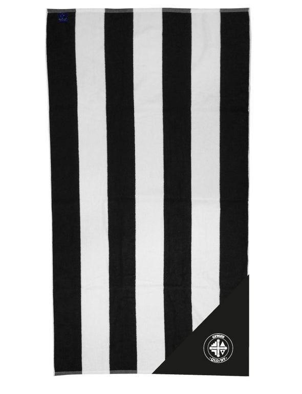 CFMEU Beach towel with zip pocket