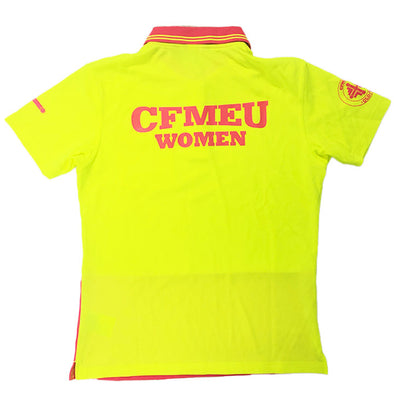 CFMEU Women Hi-Vis short sleeve
