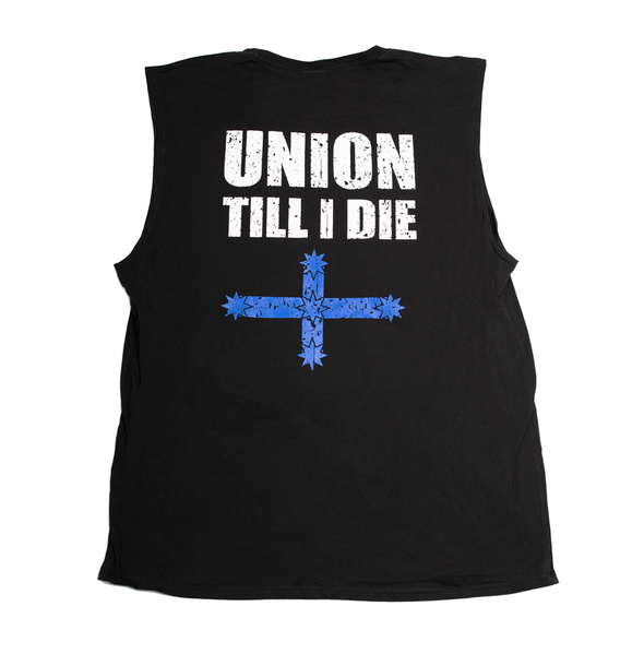 Union Till I Die Muscle Tee - Black