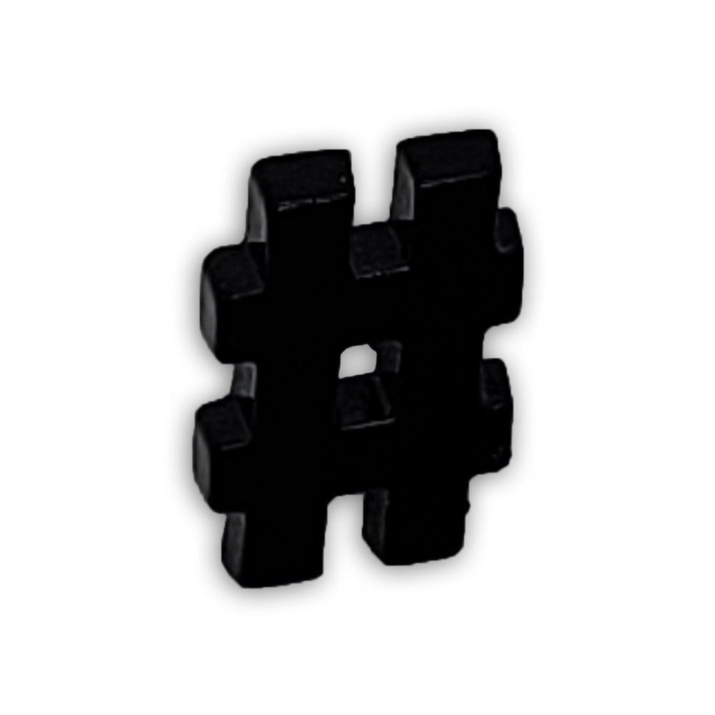 Hashtag Suit Jacket Lapel Pin