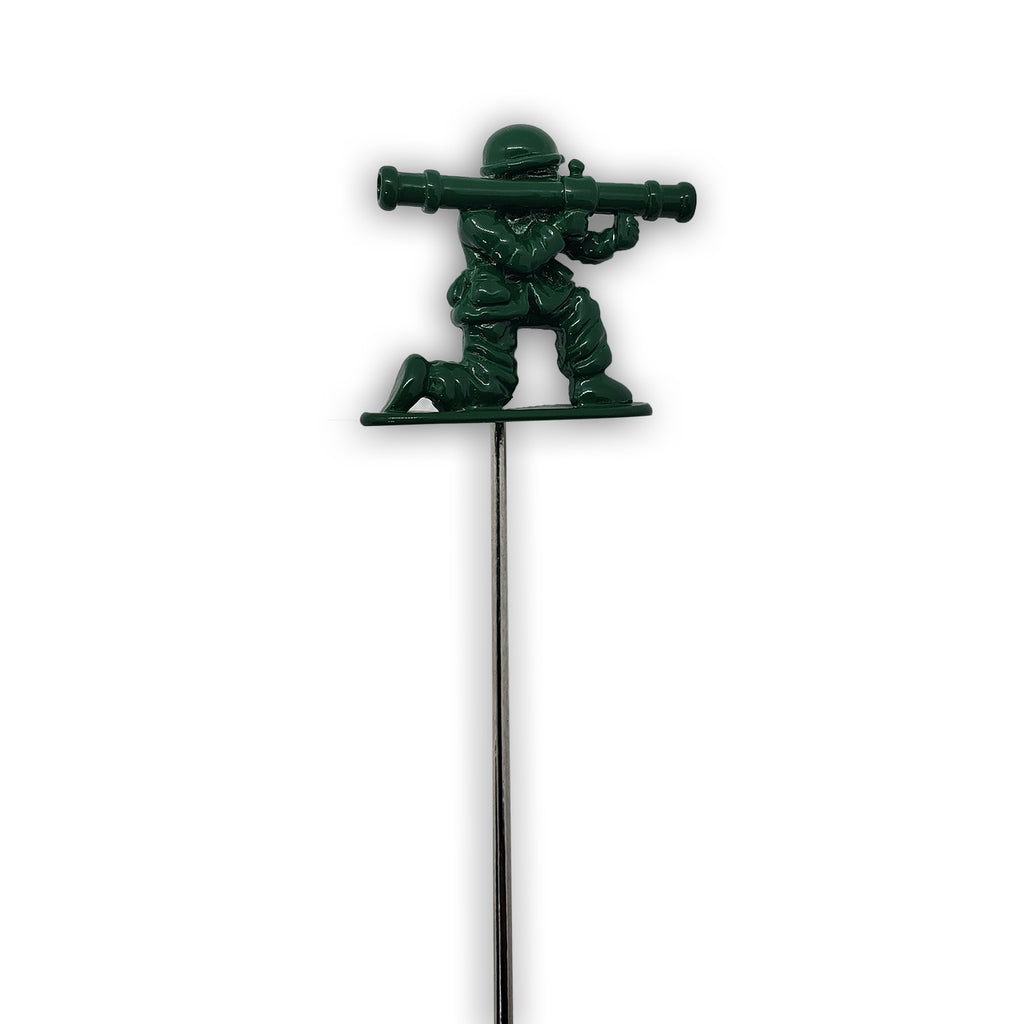 G.I. Joe Bazooka Suit Jacket Lapel Pin