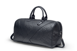 Deabreu Luxury Black Leather Duffle