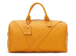 Deabreu Luxury Mustard Leather Duffle