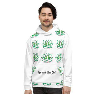 Trannabis Chi Spread The Chi Patterned Unisex Hoodie