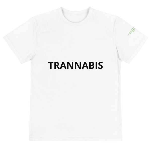 Trannabis Logo Sustainability T-Shirt