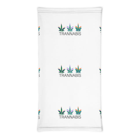 Trannabis Patterned Neck Gaiter