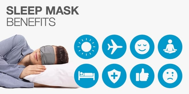4 Benefits of sleeping masks
