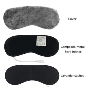 Hot Steam Eye Mask | Relieve For Eye Strain ,Dry Eyes