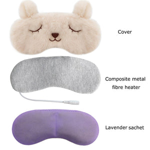 Hot Steam Eye Mask with 5 Temperature Control