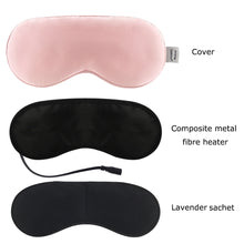 Load image into Gallery viewer, Aromatherapy Silk Eye Mask
