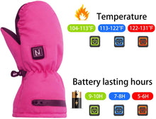 Load image into Gallery viewer, Electric Heated Winter Gloves for Kids