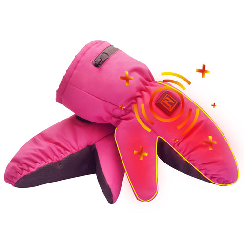 Electric Heated Winter Gloves for Kids