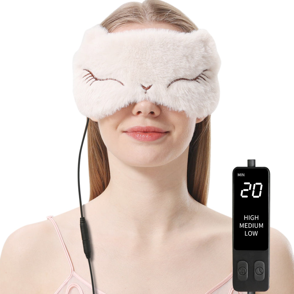 Hot Steam Eye Mask for Dry Eyes
