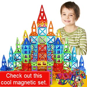Magnetic Building Design Construction Set