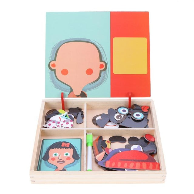 Magnetic Puzzles for Kids